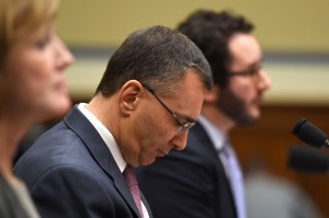 Gruber Testifying