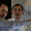 David Axelrod and Barack Obama