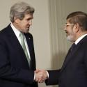 John Kerry, Mohamed Morsi