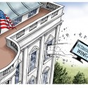 Cartoonist Gary Varvel: White House response to Netanyahu win