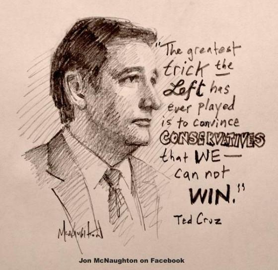 Ted Cruz Stand